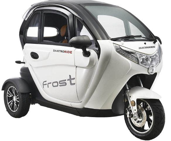 scooters electricas modelo coche